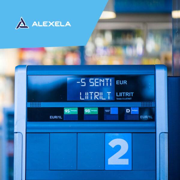 Alexela – 5 s/l soodustus bensiin 98 tankimisel